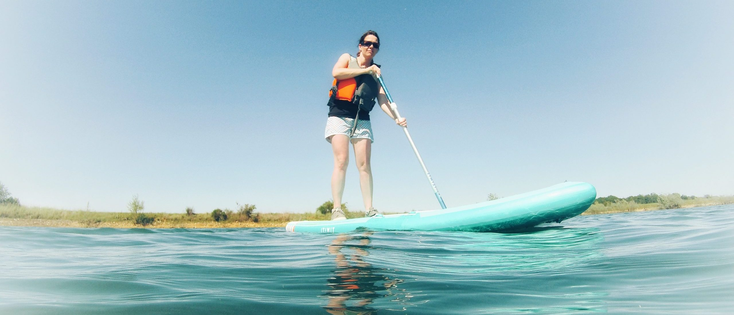Cours de stand-up paddle board dans le Loiret avec Vallées Gâtinaises