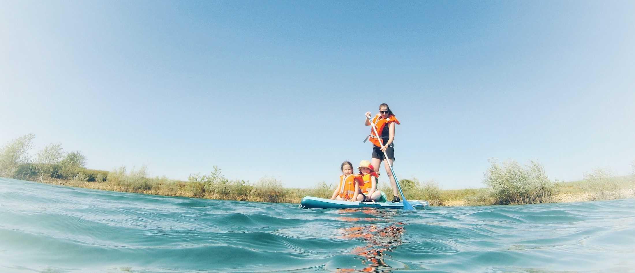 Location de paddle boards dans le Loiret avec Vallées Gâtinaises