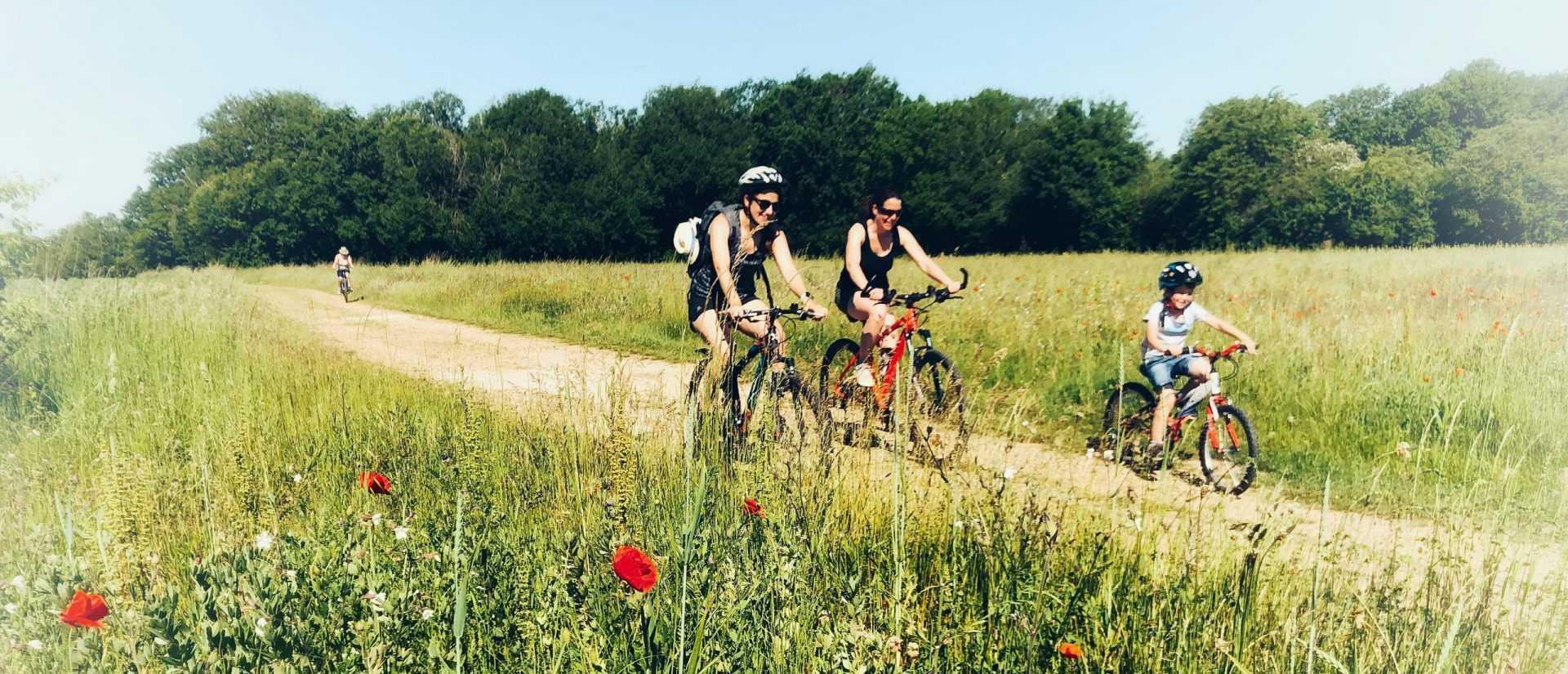 Locations de vélos à assistance éléctrique dans le Loiret avec Vallées Gâtinaises